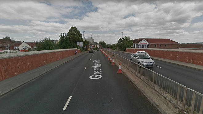 A young girl was hit by a van that failed to stop at the scene in Berkshire