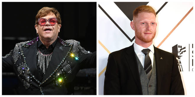Sir Elton Johns and Ben Stokes are believed to have been affected