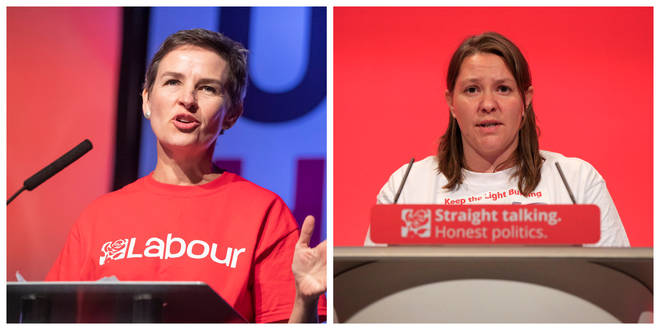 Mary Creagh and Anna Turley