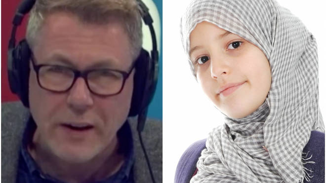 Ian Collins was angry that hijabs have been added to school uniform