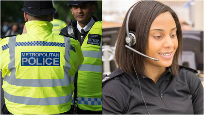 Police urged the public to only call 999 in an emergency