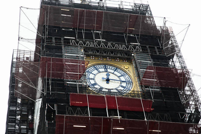 Big Ben's chimes will be tested ahead of New Year's Eve