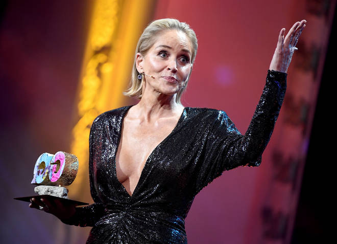 Actress Sharon Stone says she was blocked from dating app Bumble