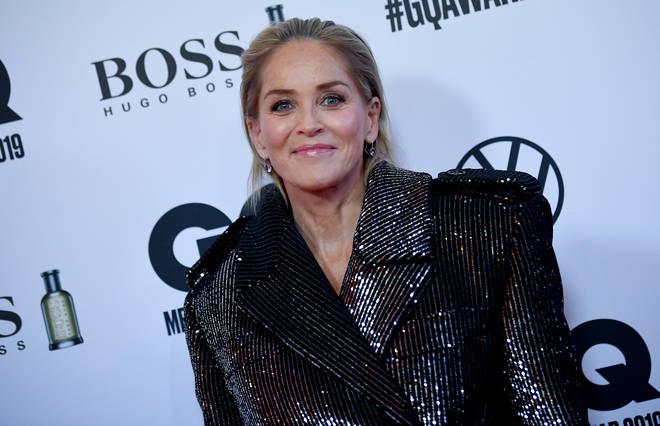 American actress Sharon Stone