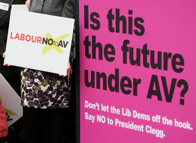 The AV ballot was the first national referendum in the UK since 1975