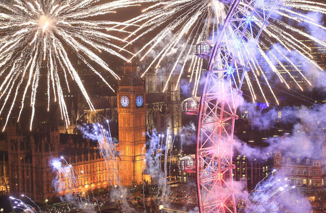 LBC's guide to New Year's Eve in London