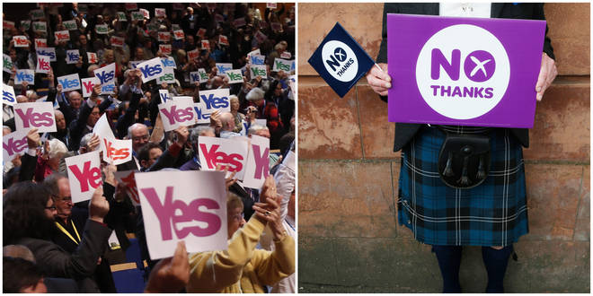 The Yes and No campaigns were founded in Scotland in 2012