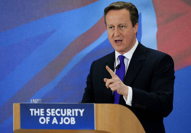 David Cameron won a surprise majority in the 2015 general election