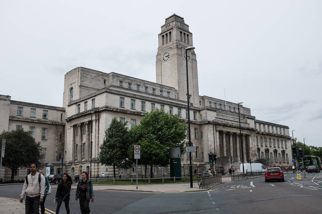 The girl is set to be a law student at the University of Leeds