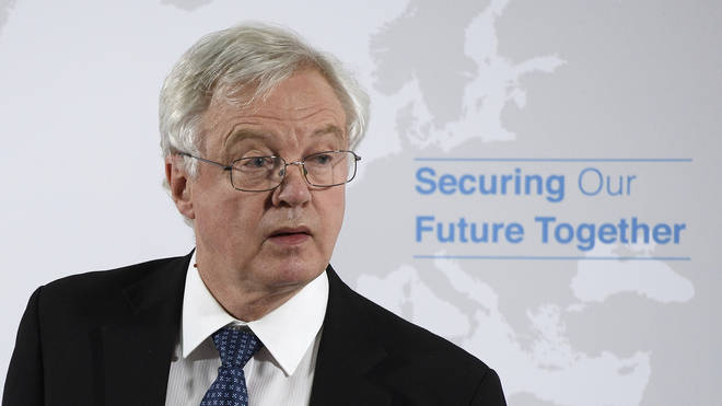David Davis quit as the Brexit Secretary following a Cabinet summit at Chequers