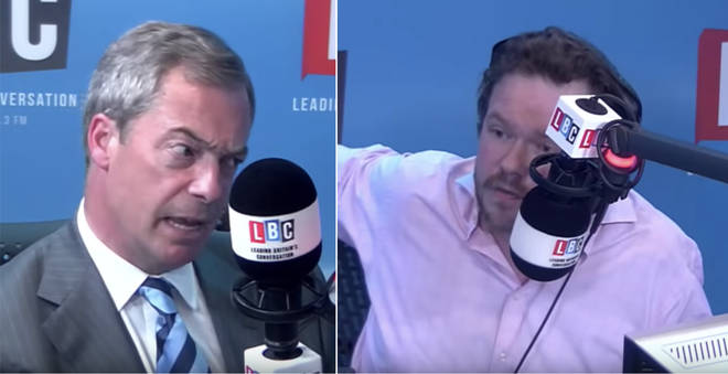 James O'Brien v Nigel Farage