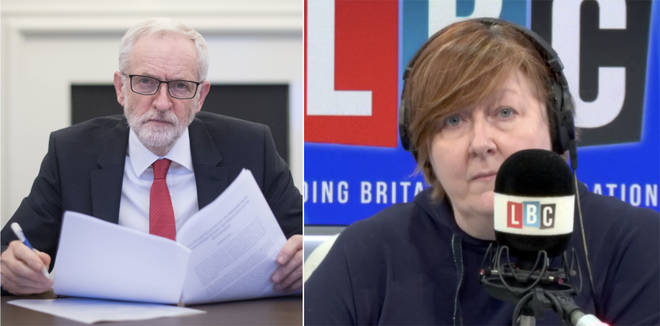 Shelagh was left speechless by this Jeremy Corbyn supporter