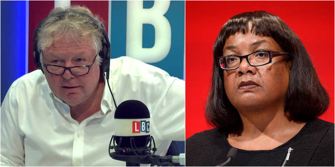 Nick Ferrari's interview with Diane Abbott went viral