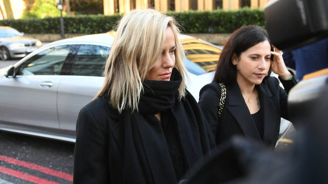 Ms Flack pictured outside Highbury Magistrates' Court on 23 December