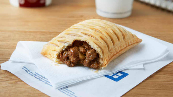 The new vegan stake bake will cost £1.55