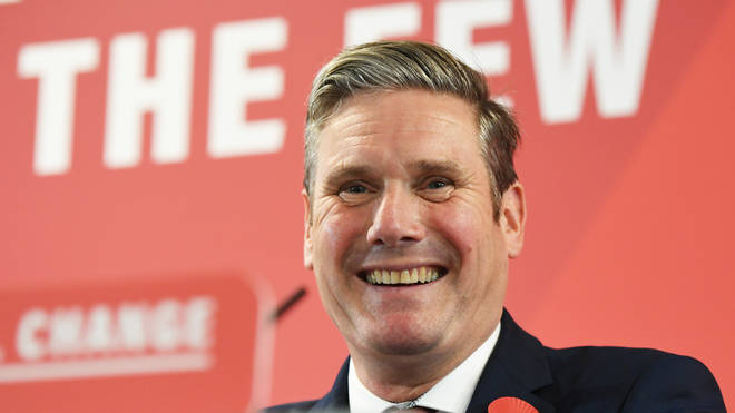 Sir Keir Starmer is the clear front-runner for the Labour leadership contest
