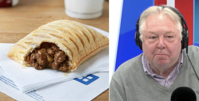 Nick Ferrari had a try of the new vegan steak bake