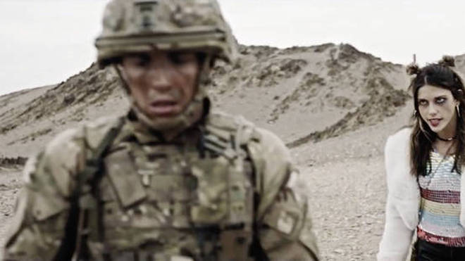 An image from the new Army recruitment advert