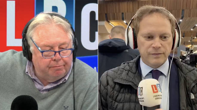 Nick Ferrari grilled Grant Shapps on the fares rises
