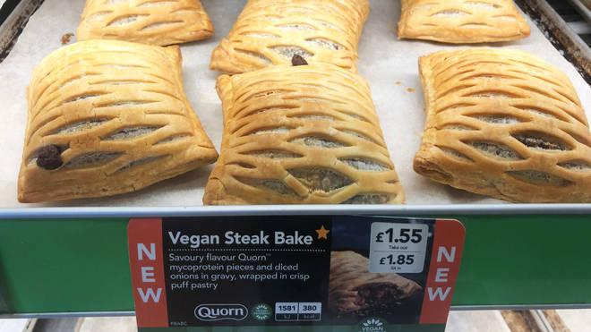 The steak bake launched nationwide on January 2