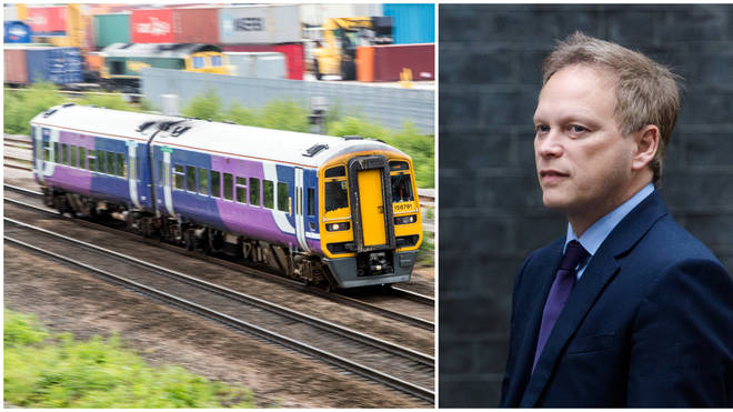 "Mr Shapps confirmed Northern&squot;s franchise will be ""brought to an end"""