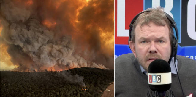 James O'Brien had tough questions for this caller on climate change