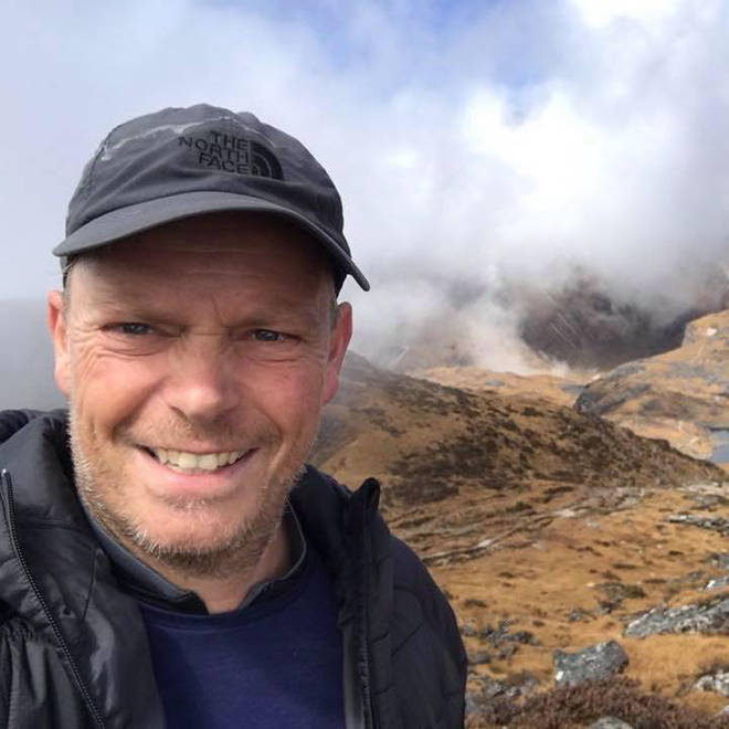 Mr Griffiths was a dad-of-two who loved mountaineering