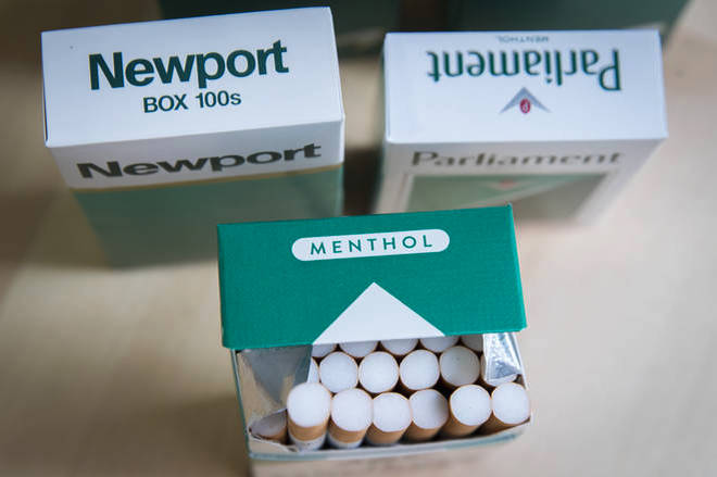 Menthol cigarettes will be banned to deter young people from taking up smoking.