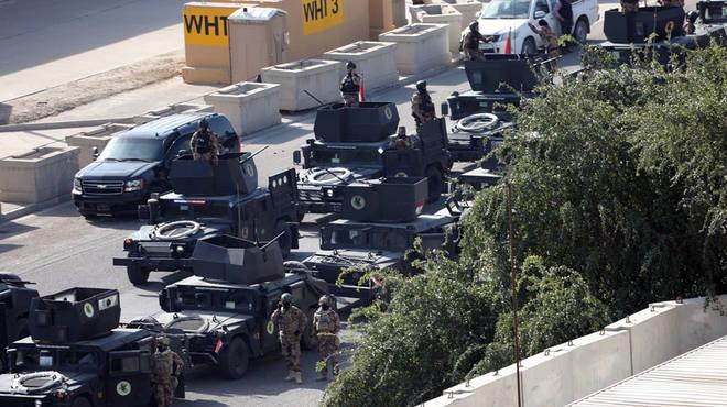 Iraqi Counter-Terrorism Service were brought in