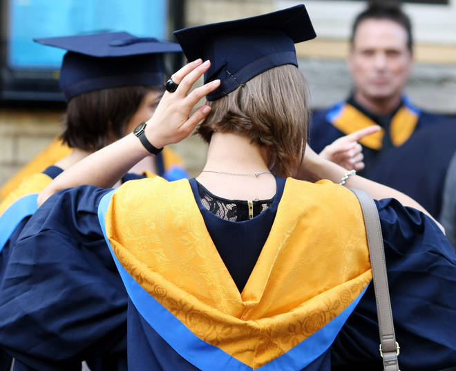 Universities have seen an increase in the proportion of students dropping out in the last five years