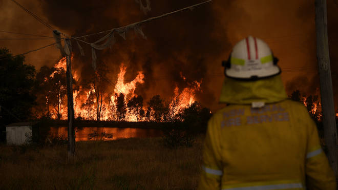 Fires have burnt out of control in the country