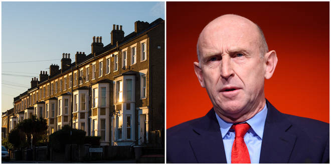 "John Healey criticised the ""puny"" fund set up by the Tories"