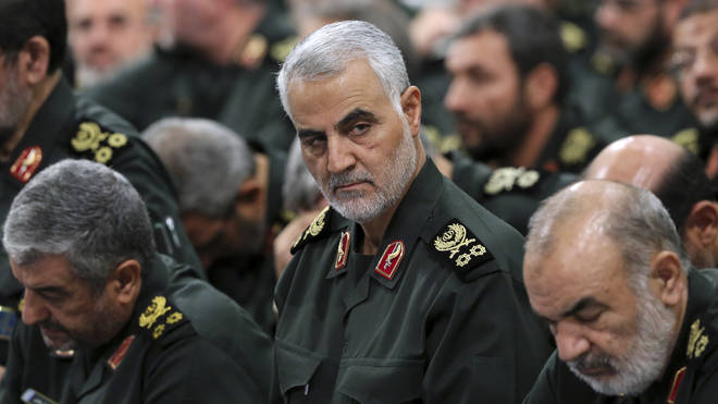 General Qassem Soleimani was effectively the second-in-command in Iran