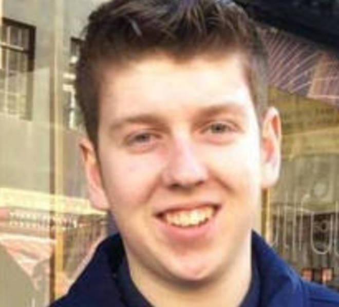 Dominic Fell, 23, was killed in the crash