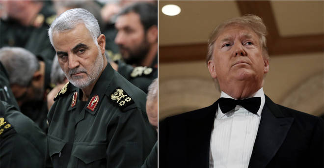 Donald Trump ordered the killing of Qassem Soleimani