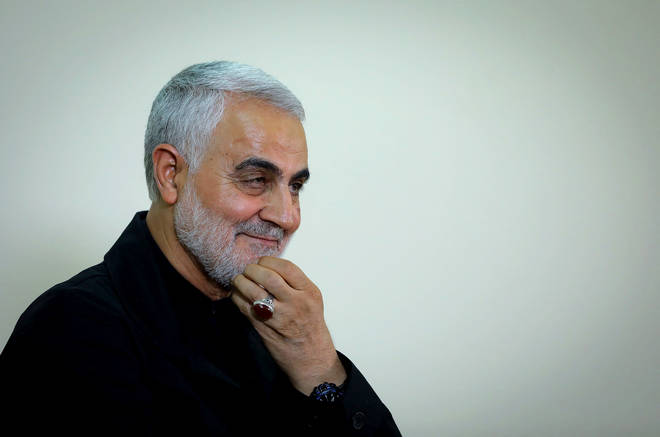 Soleimani was killed in the early hours of Friday morning