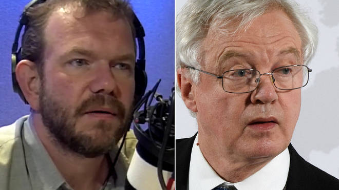 James O'Brien spoke to this caller about David Davis