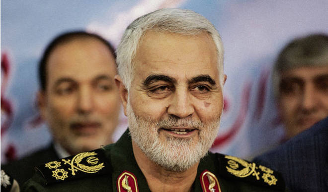 Soleimani was killed in an airstrike on Friday morning.