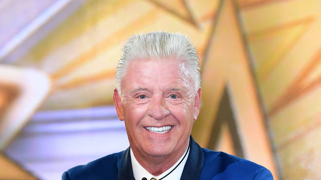 Derek Acorah during Celebrity Big Brother in 2017