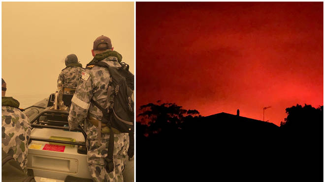 Australia fires: Mallacoota evacuee explains how he escaped the fire-hit town