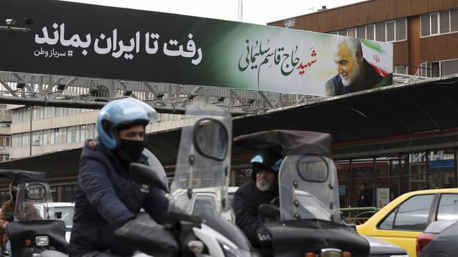 "Former US ambassador warns Iran will get ""revenge"" for Solemaini killing"