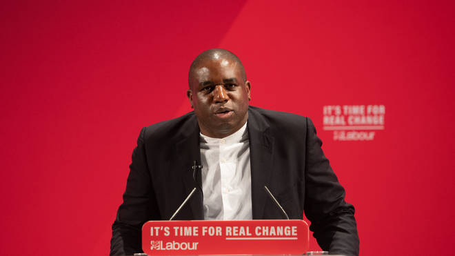 David Lammy rules himself out of Labour leadership contest to replace Corbyn