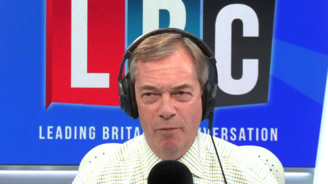 The Nigel Farage Show: Watch live from 10am