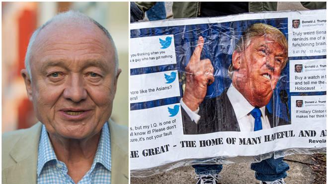 Ken Livingstone accuses Trump of intervening in Iran for oil