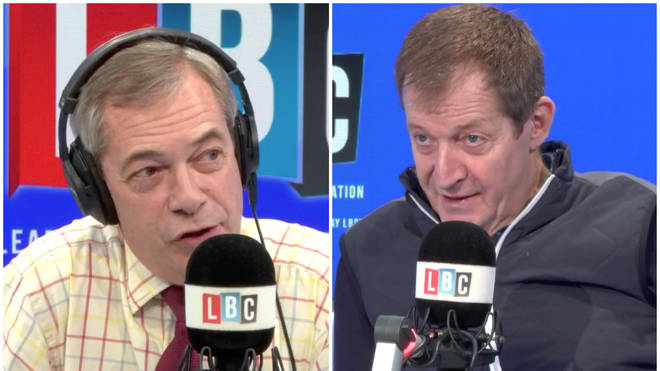 Alastair Campbell reveals to Nigel Farage how he voted in the General Election