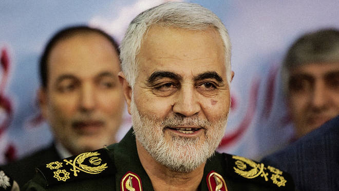 Soleimani was killed in an American airstrike on Friday