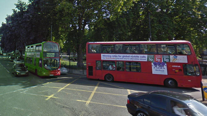 The incident took place on a bus