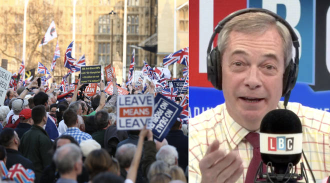 Nigel Farage revealed a Brexit night party