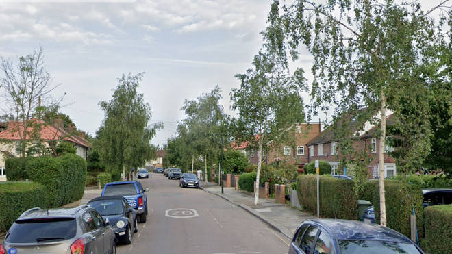 The remains were found on Nowell Road, south-west London