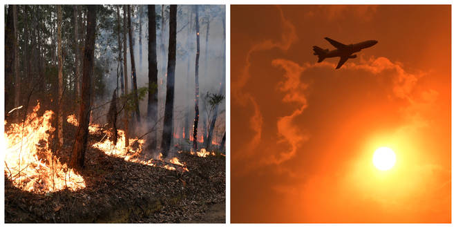 The fires are continuing across Australia